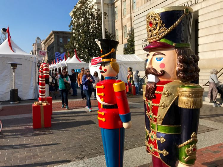 Holiday Markets in Northern Virginia and DC are great places to shop local.