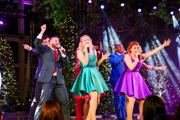Gaylord National Singers holiday show National Harbor
