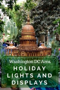 Holiday lights in Washington DC, Northern Virginia area include dazzling displays to amp up your holiday spirit.
