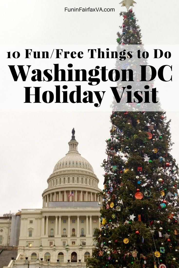 10 Fun and Free Things to Do on a Washington DC Holiday Visit