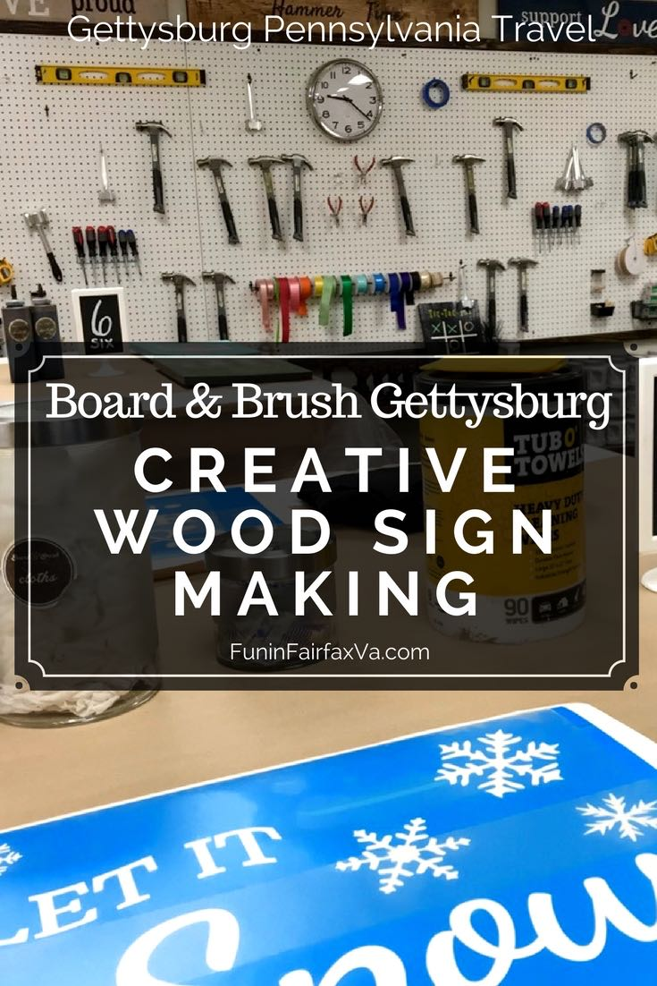 Things to Do in Gettysburg Pennsylvania | US Travel, Crafts | Board and Brush Gettysburg combines creativity and fun with guided, do-it-yourself sign-making workshops perfect for a friends outing or unique date night.