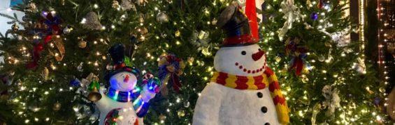 Gettysburg Christmas snowmen