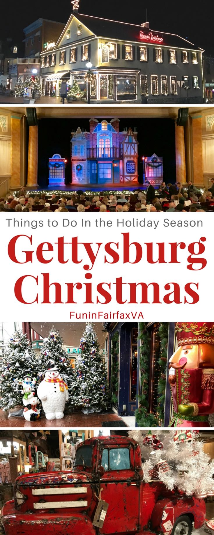 Gettysburg christmas fun top things to do on a holiday for Best places to visit in us during christmas