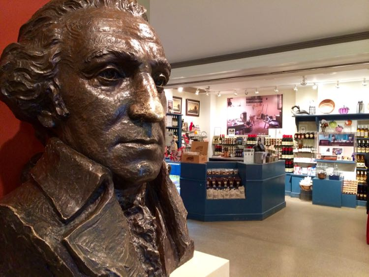 Gift shop at George Washington's Mount Vernon