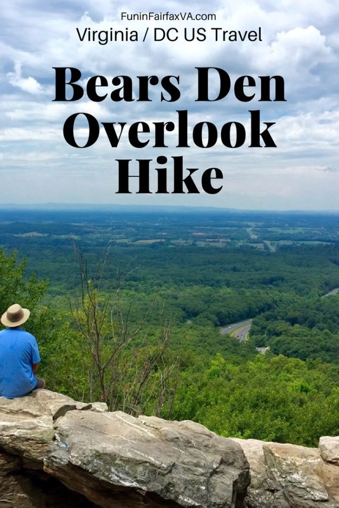 Virginia / Washington DC hiking, travel. Family hike. Bears Den Overlook hike delivers a gorgeous payoff for a small effort and can be modified to suit different fitness levels and available time.