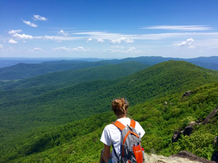 Enjoy beautiful views in Shenandoah National Park on some of the best hikes in Northern Virginia