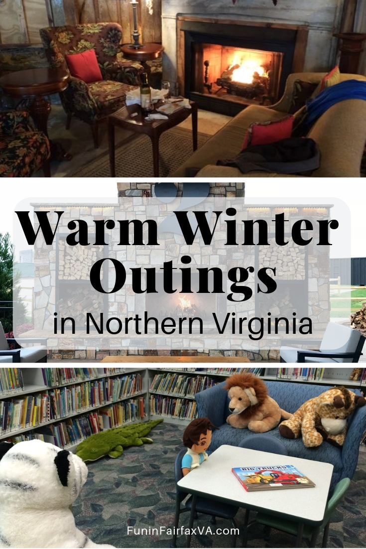 Virginia Travel | Winter outings in Northern Virginia | Washington DC region | These warm winter outings in Northern Virginia will help you fight cabin fever on chilly days.
