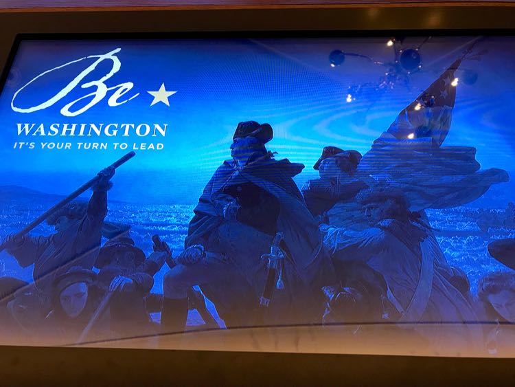 Be Washington experience at Mount Vernon