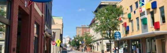 Downtown Harrisonburg VA is a Great American Main Street Award winner.