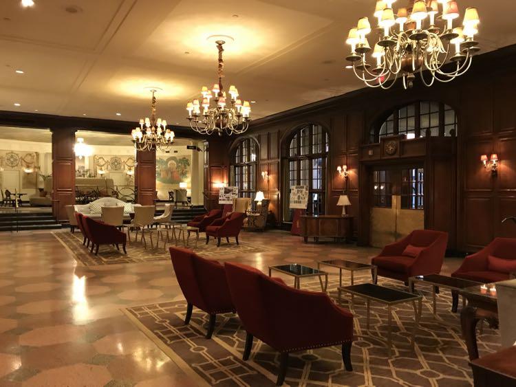 Hotel Roanoke lobby, Virginia's Blue Ridge