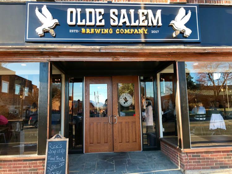 Old Salem Brewing in Salem Virginia
