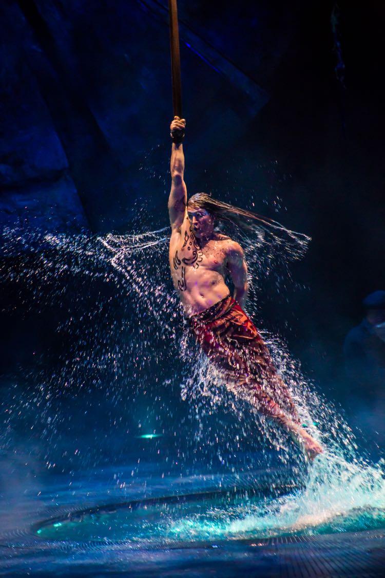 LUZIA in Tysons rain dancer
