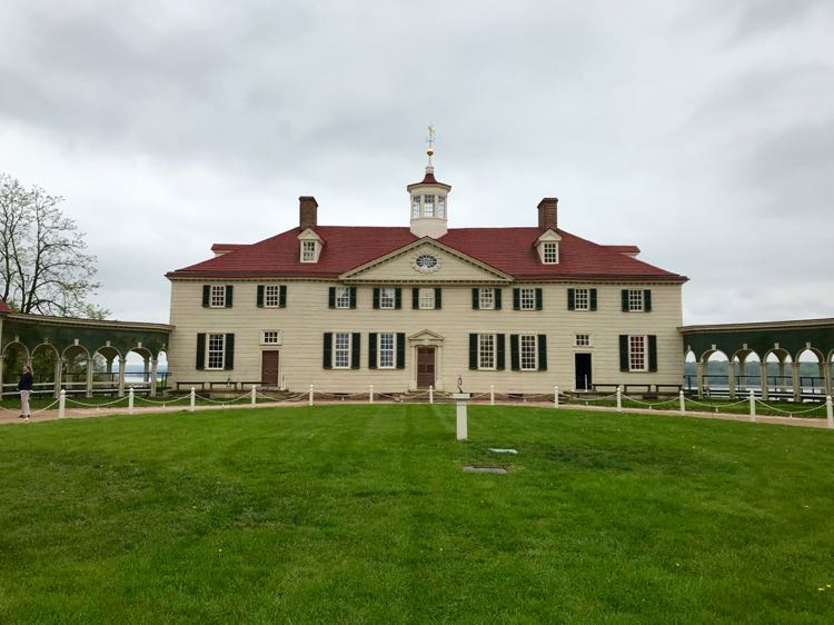 Mount Vernon Virginia home of George Washington
