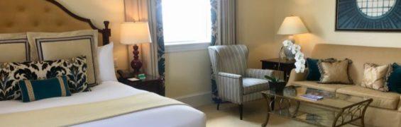 The Jefferson hotel bedroom Richmond VA