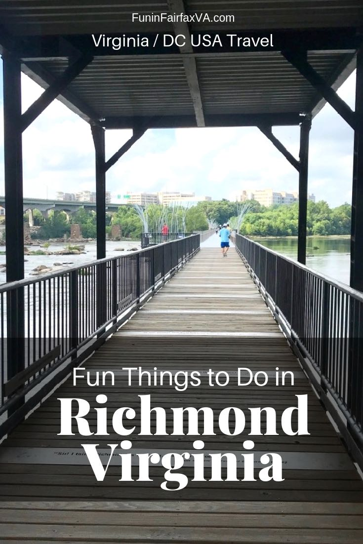 Fun things to do in Richmond VA on a getaway to Virginia's capital city.
