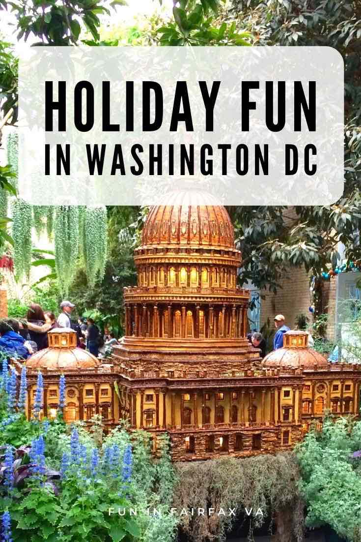 Holiday fun and free things to do in Washington DC including winter festivals, Christmas markets, and holiday lights in and near the nation's capital