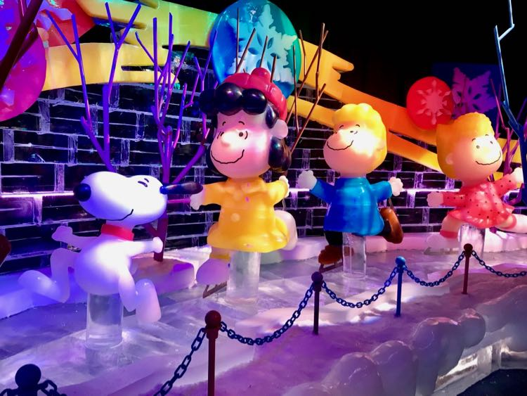 Snoopy and friends at ICE 2018