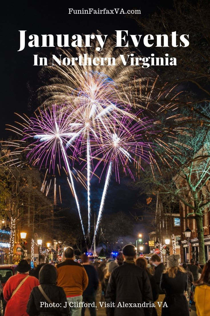 January events and things to do in Northern Virginia include New Year's celebrations, First Day hikes, final holiday season celebrations, and plenty of winter fun near DC.