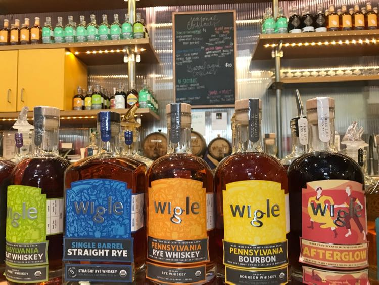 Wigle Whiskey Pittsburgh PA