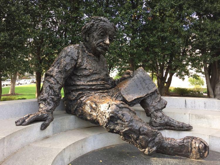 Albert Einstein Memorial Washington DC