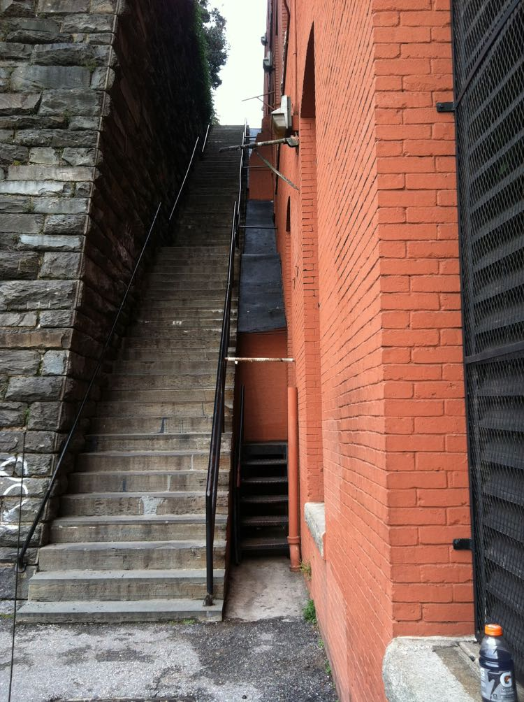 Exorcist steps in Georgetown, Washington DC, photo credit McCool Travel