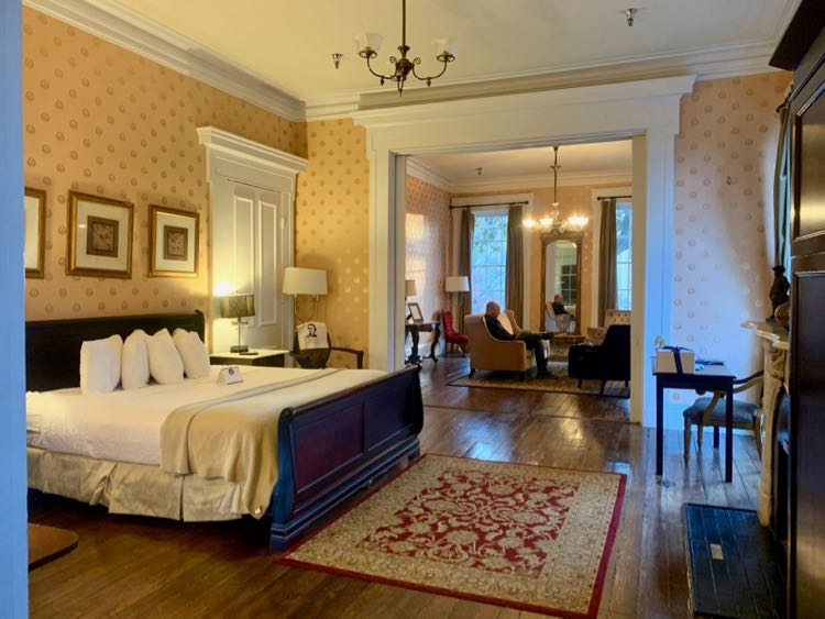 A Parlour Suite at the Linden Row Inn in Richmond Virginia is perfect for romantic getaways.