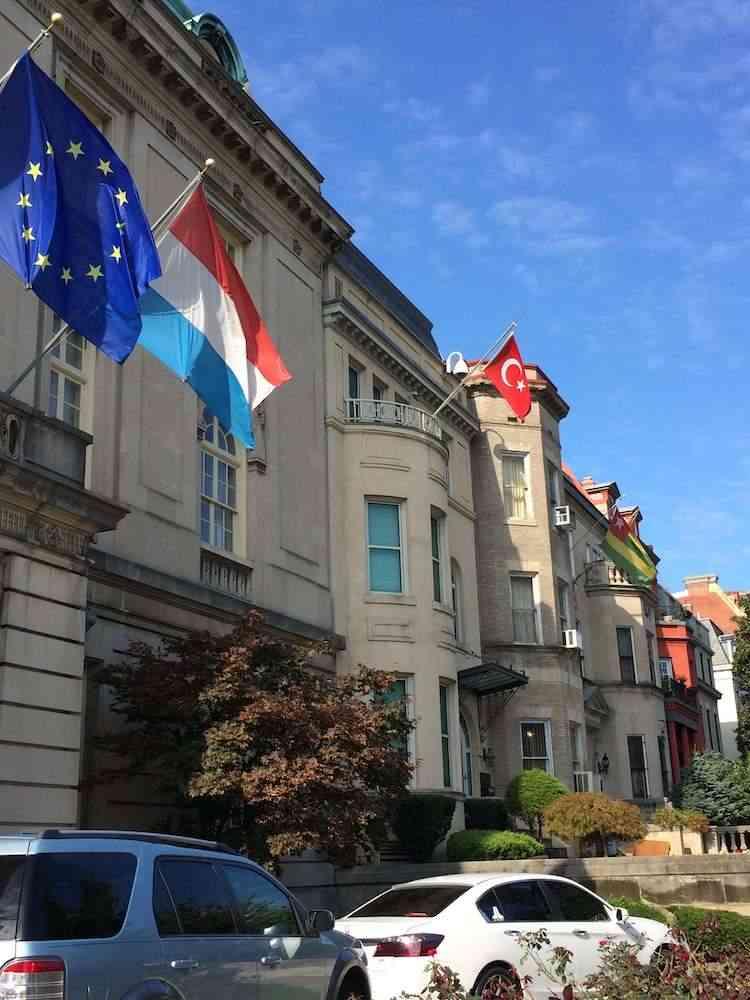 Washington DC-Embassy Row, photo credit McCool Travel