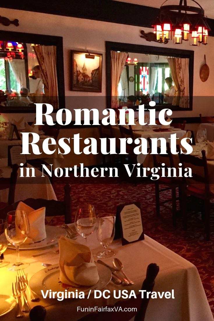 Virginia Dining. These romantic restaurants in Northern VA are perfect for Valentine's day, to celebrate a special occasion, or for a tasty couples night out.