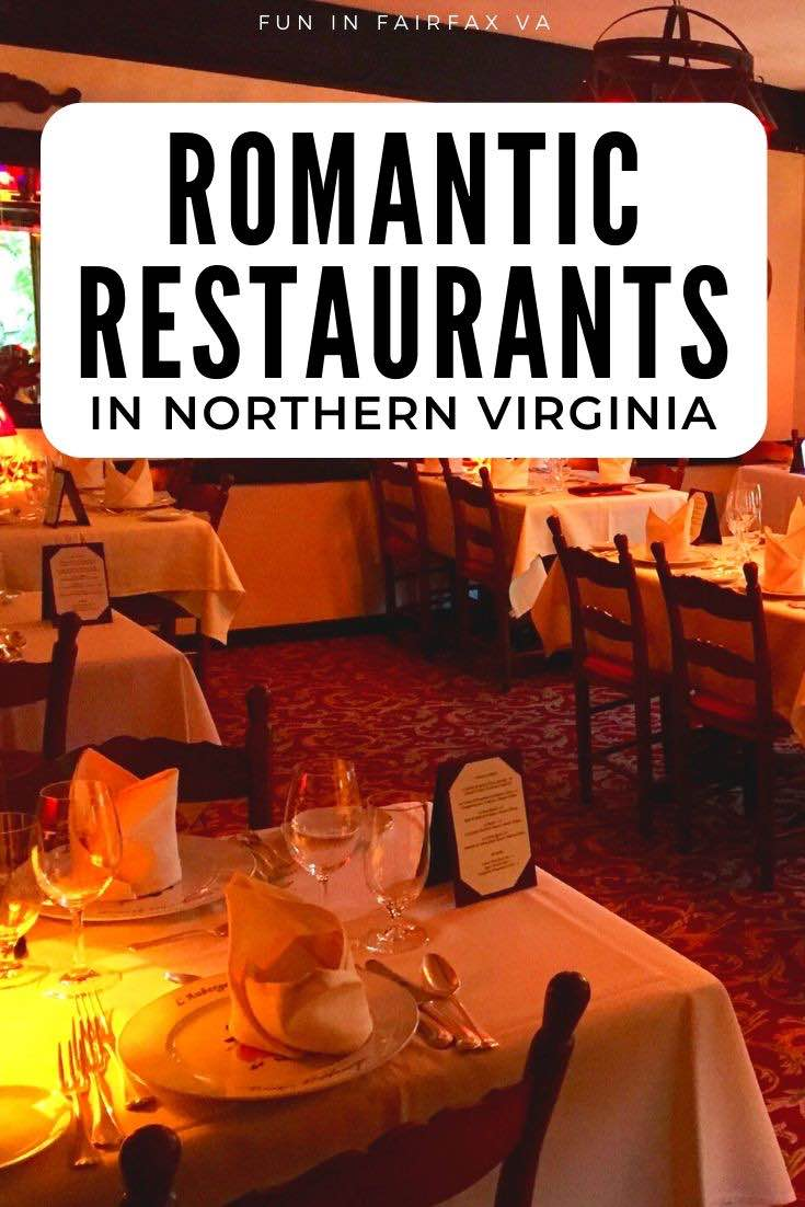 Virginia Dining. Romantic restaurants in Northern VA perfect for Valentine's day, to celebrate a special occasion, or for a couples night out.