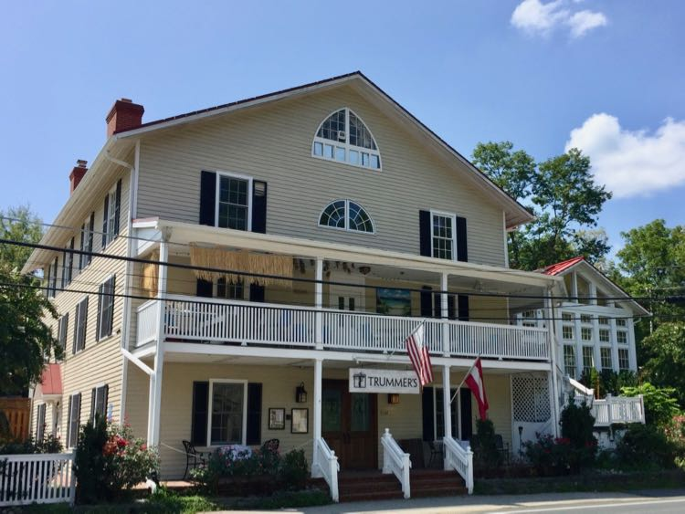 Trummers on Main, fine dining in Clifton Virginia