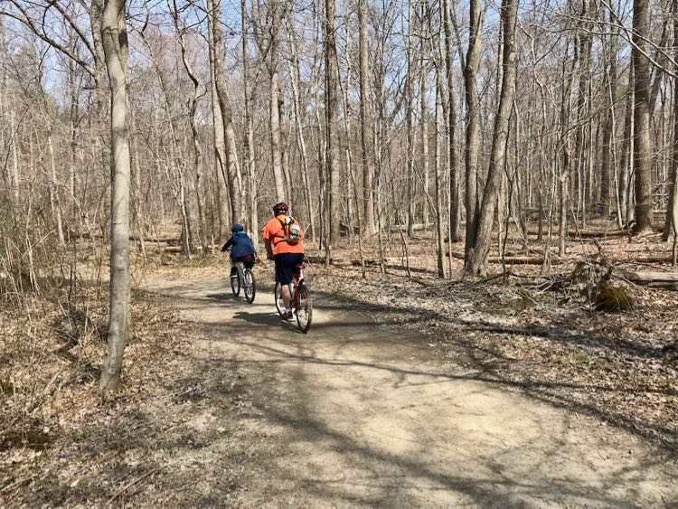 Burke Lake Park offers family-friendly biking in Northern Virginia