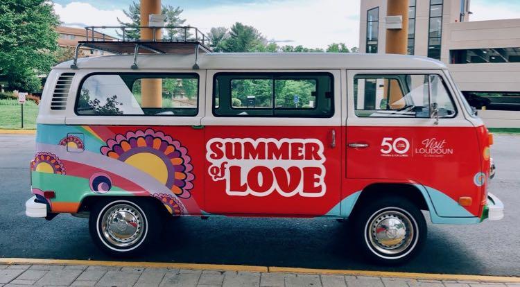 Loudoun County Summer of LOVE Bus