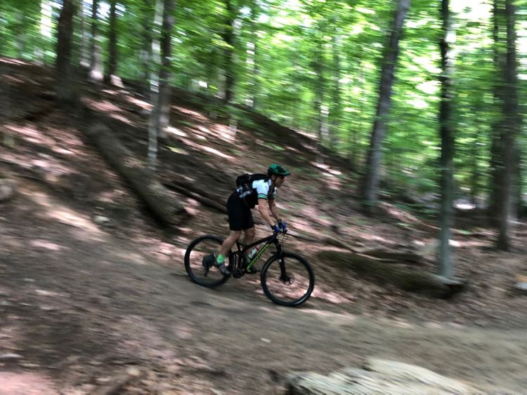 Mountain Bike Trail at Fountainhead Park VA; photo by Stefan Hansen