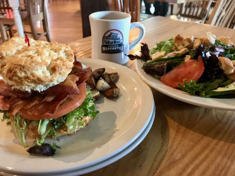 Brunch at Draper Mercantile in Draper SWVA