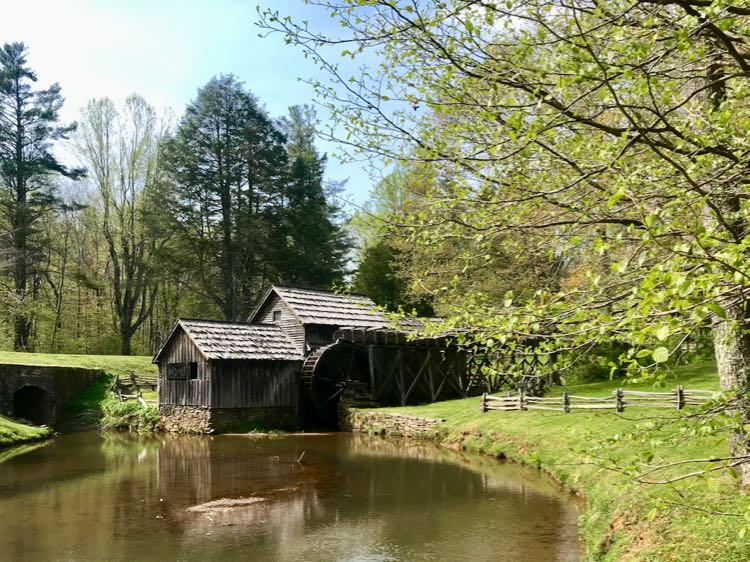 Mabry Mill, the most photographed spot on Blue Ridge Parkway in SWVA