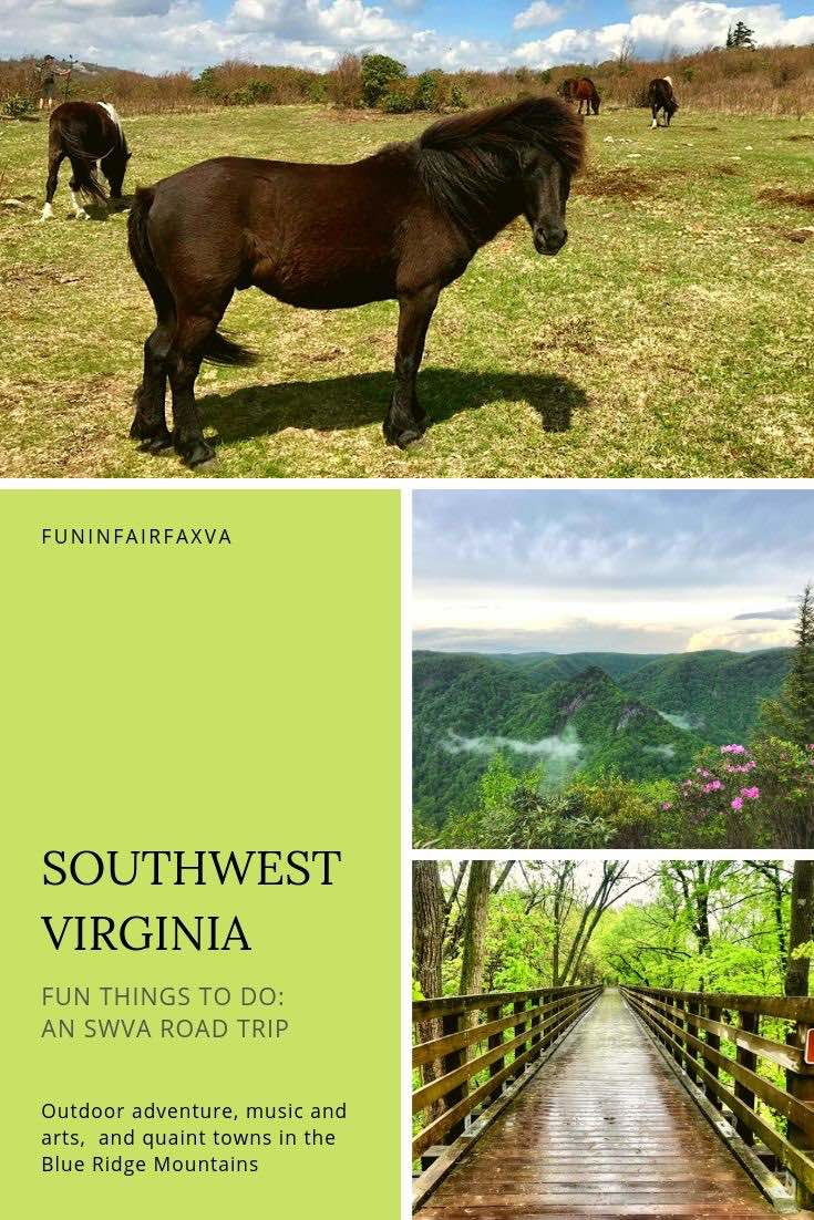 Fun things to do in Southwest Virginia on an SWVA road trip.