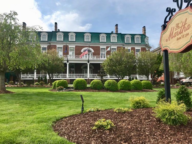 The Martha Washington in Abingdon Virginia