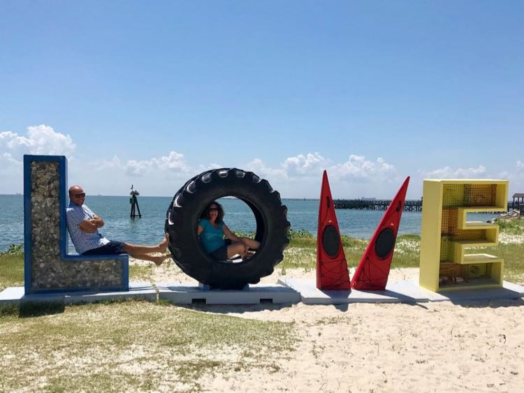 Cape Charles VA LOVEwork o n Virginia's Eastern Shore honors the regions coastal heritage