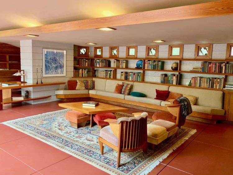 Tour and stay at Frank Lloyd Wright's Mantyla at Polymath Park PA