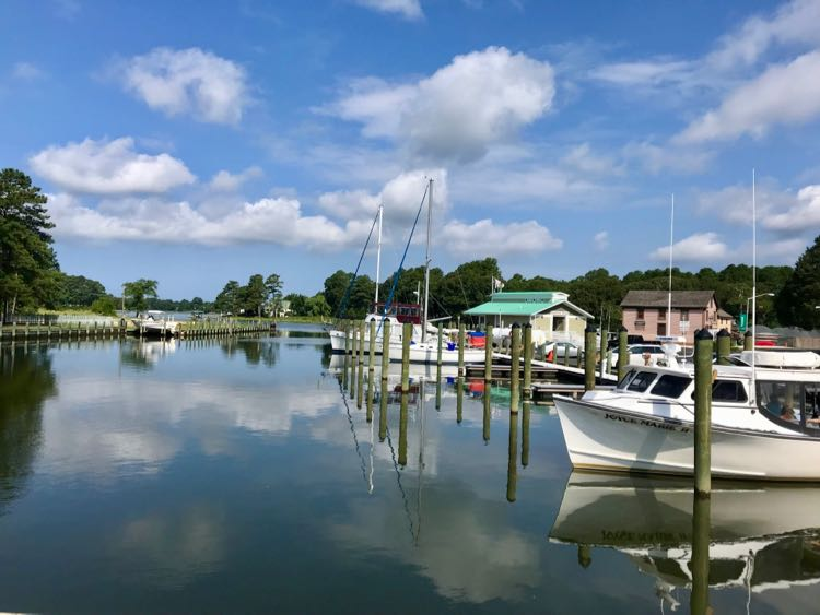 Onancock Harbor on the Eastern Shore of Virginia