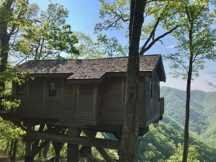 Primland Tree House in Meadows of Dan VA