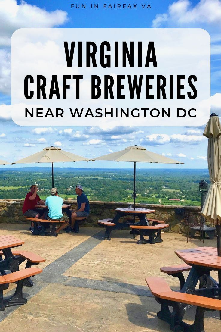 Virginia craft breweries near Washington DC offer tasty brews and fun things to do on Northern Virginia's LoCo Ale Trail.
