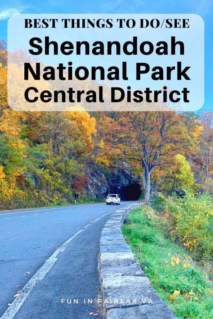 Best things to do and see in Shenandoah National Park Central District Virginia
