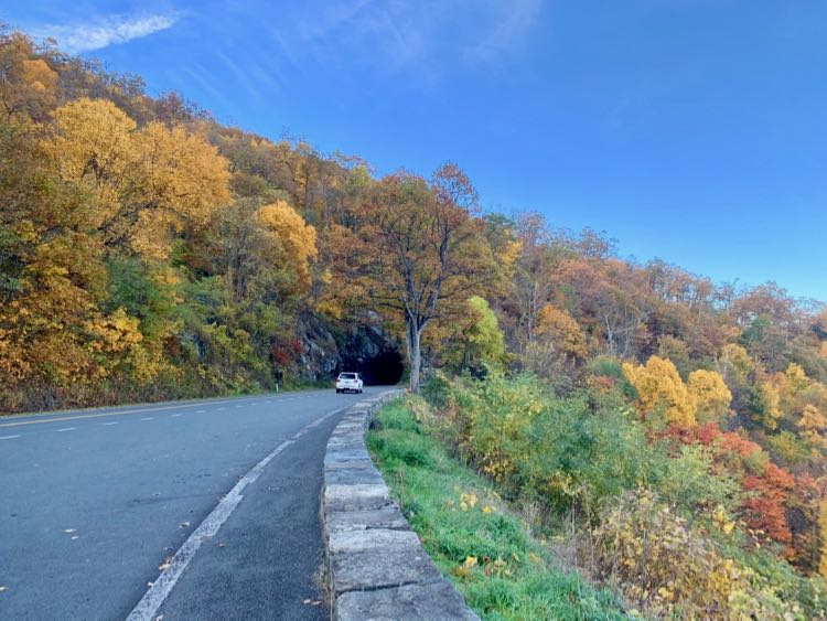 Skyline Drive Marys Rock Tunnel Shenandoah NP