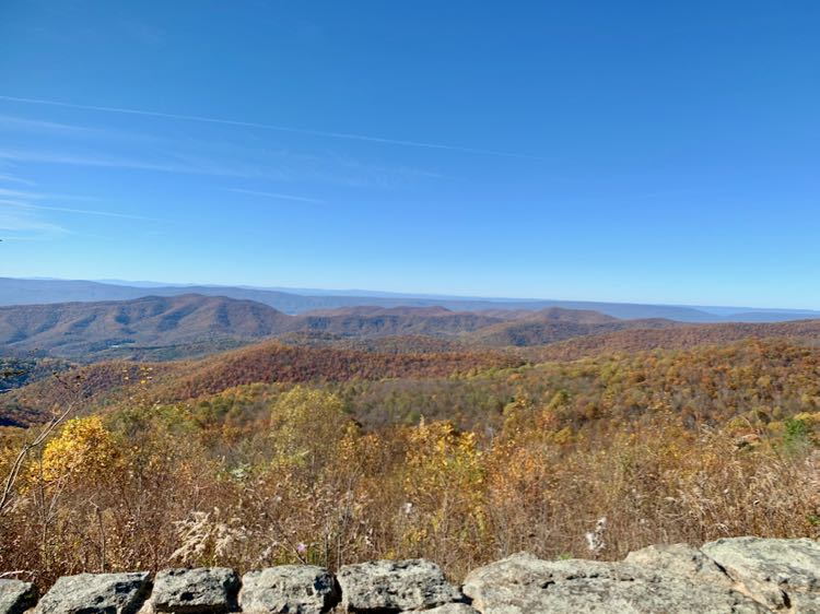 The Point Overlook Shenandoah NP