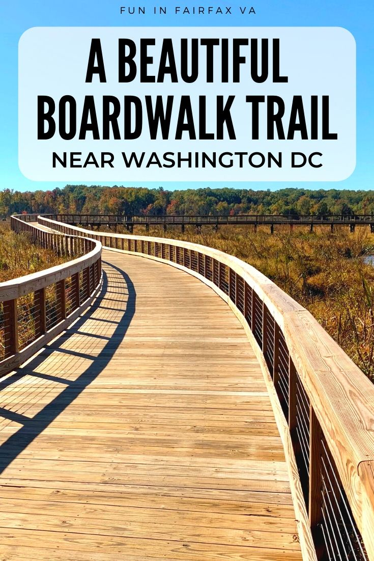 Neabsco Creek Boardwalk Trail near Washington DC