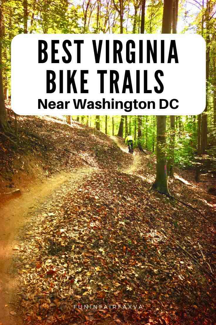 Best Northern Virginia bike trails near Washington DC