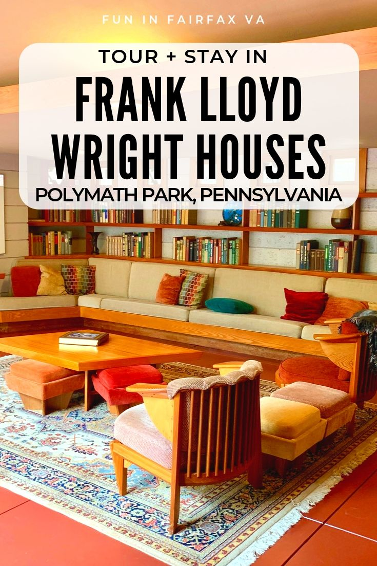 Tour, dine, and stay at Polymath Park and immerse yourself in a unique Frank Lloyd Wright experience near Fallingwater, in Laurel Highlands, Pennsylvania.