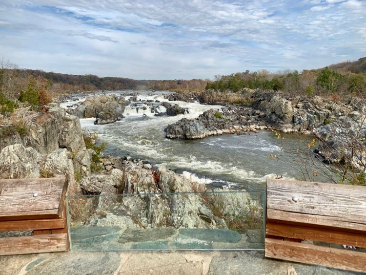 Great Falls Park view from Overlook 3