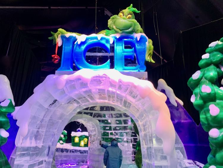 Grinch welcome to ICE National Harbor